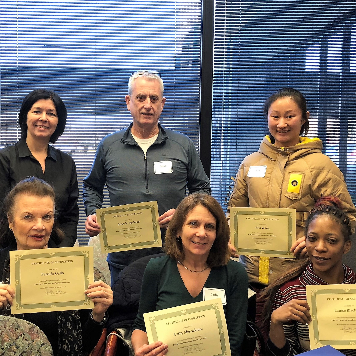 respite Orientation Certificates Feb 2019